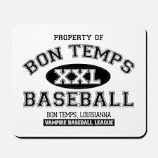 Property of Bon Temps Basebal Mousepad