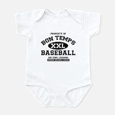 Property of Bon Temps Basebal Infant Bodysuit