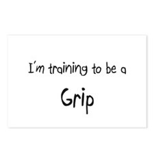 I'm training to be a Grip Postcards (Package of 8)