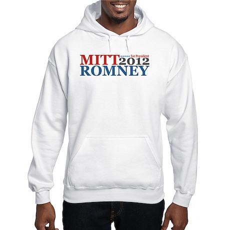 Mitt Romney 2012 Hooded Sweatshirt