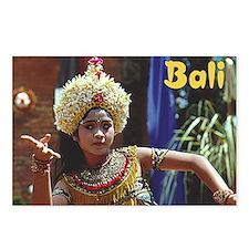 Cute Balinese Postcards (Package of 8)