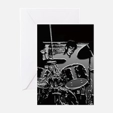 On Drums - Greeting Cards (Pk of 10)