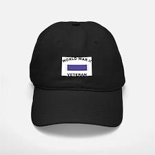 World War II Veteran Baseball Hat