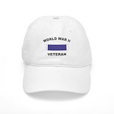 World War II Veteran Baseball Cap