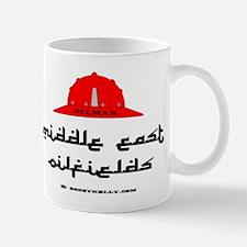 Middle East Oil Fields Mug