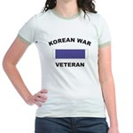 Korean War Veteran Jr. Ringer T-Shirt