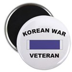"Korean War Veteran 2.25"" Magnet (10 pack)"