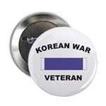Korean War Veteran Button