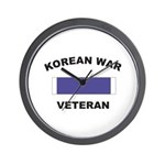 Korean War Veteran Wall Clock