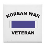 Korean War Veteran Tile Coaster