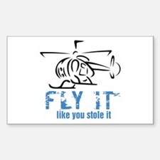 FlyitStoleIt3 Rectangle Decal