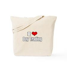 """""""I Love Day Trading"""" Tote Bag"""