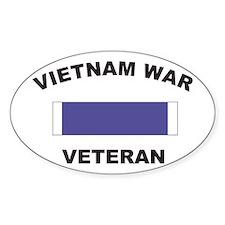 Vietnam War Veteran Oval Decal