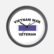 Vietnam War Veteran Wall Clock