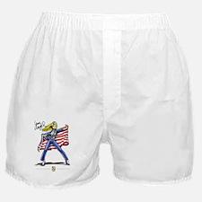 Cute Blue angel pins Boxer Shorts