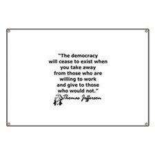 THOMAS JEFFERSON QUOTE Banner
