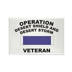 Gulf War Veteran Rectangle Magnet (100 pack)
