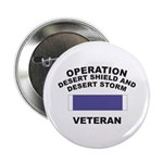 "Gulf War Veteran 2.25"" Button (100 pack)"
