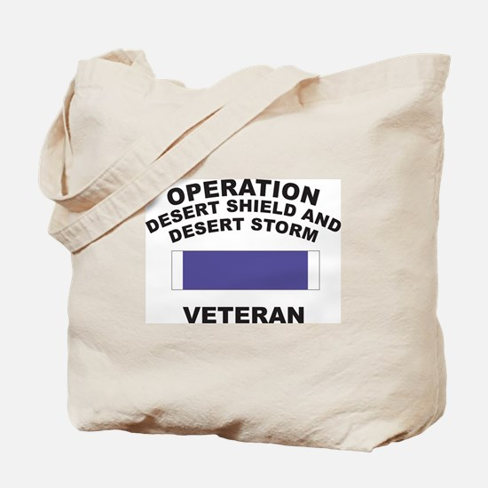 Gulf War Veteran Tote Bag