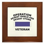 Gulf War Veteran Framed Tile