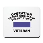 Gulf War Veteran Mousepad