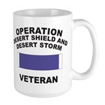 Gulf War Veteran Large Mug