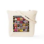 Spontaneous Smiley Tote Bag