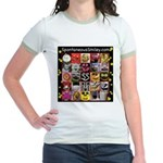 Spotaneous Smiley Clothes Jr. Ringer T-Shirt