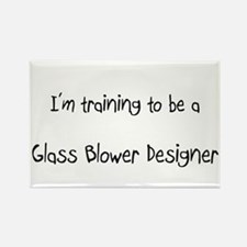I'm training to be a Glass Blower Designer Rectang