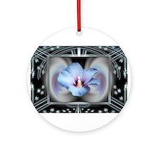 HnH Floral April Ornament (Round)
