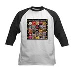 Spotaneous Smiley Clothes Kids Baseball Jersey
