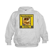 Spotaneous Smiley Clothes Hoodie