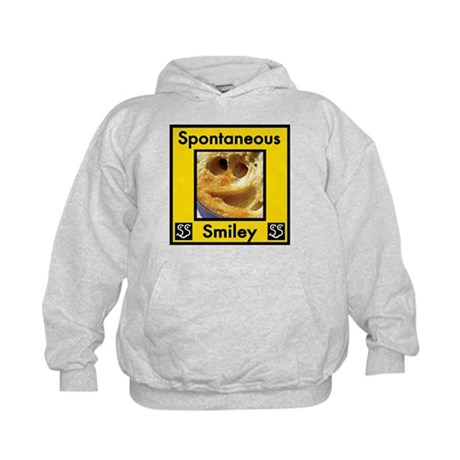 Spotaneous Smiley Clothes Kids Hoodie