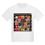 Spotaneous Smiley Clothes Kids Light T-Shirt