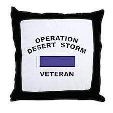 Gulf War Veteran Throw Pillow