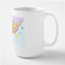 """""""1849 U.S. Map"""" Mug"""