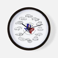 TexasFBody Generations Wall Clock