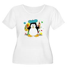 Artistic Penguin T-Shirt