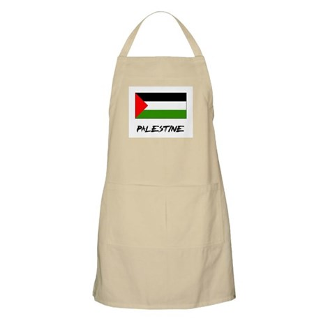 Palestine Flag BBQ Apron