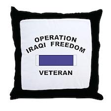 Iraq Veteran Throw Pillow