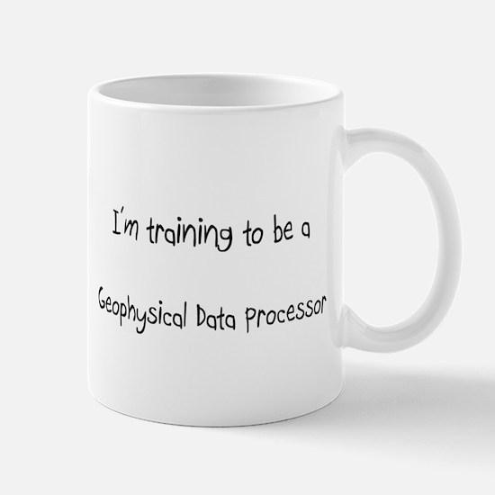 I'm training to be a Geophysical Data Processor Mu