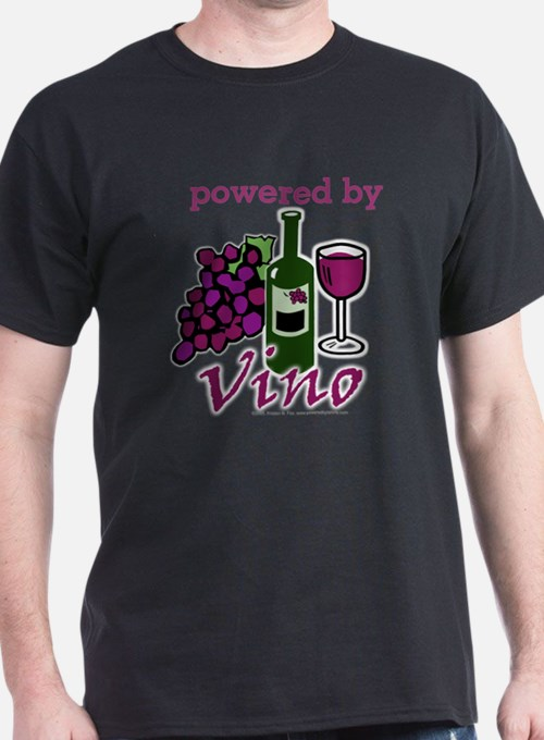 Powered By Wine T-Shirt