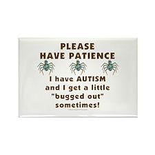 Autism Bug Rectangle Magnet