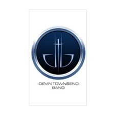Devin Townsend Band Rectangle Decal