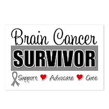 Brain Cancer Survivor Postcards (Package of 8)