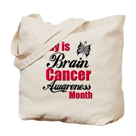Brain Cancer Month Tote Bag