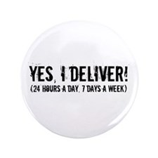 """Funny Obstetrician 3.5"""" Button (100 pack)"""
