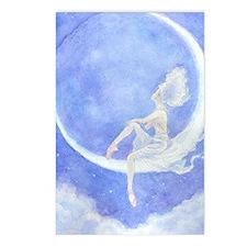 Crescent Moon Ballet Postcards (8 ct)