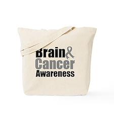 Brain Cancer Tote Bag