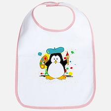 Artistic Penguin Bib